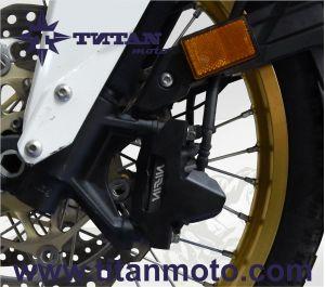 Brake calliper guard front (Set)