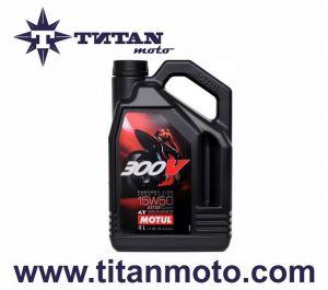 MOTUL  15W50 300V 4T FL ROAD RACING (4L)