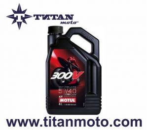 MOTUL  5W40 300V 4T FL ROAD RACING (4L)