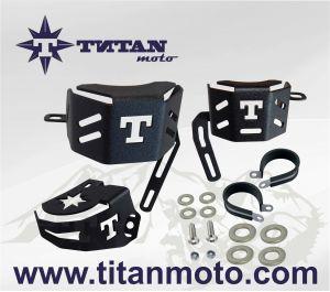 Protection des réservoirs d'embrayage et de frein (avant/arrière)