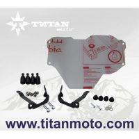 Защита фары большая быстросъемная - LEXAN