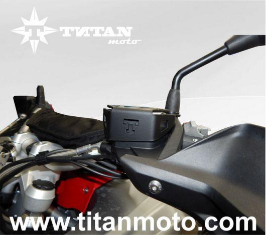 Защита бачка сцепления черный BMW R1200GS LC titanmoto.com
