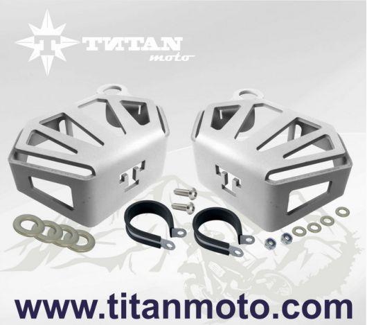 Защиты бачков сцепления и тормоза BMW R1200GS LC titanmoto.com
