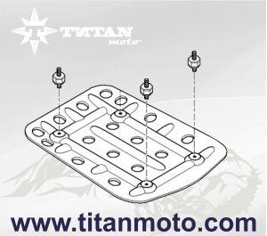 Amortecedor de vibrações para placas de proteção do motor